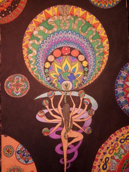 Kundalini Energy in my eyes - Nirvana Anand